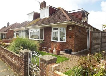 Thumbnail 3 bed semi-detached bungalow for sale in Northease Gardens, Hove, East Sussex