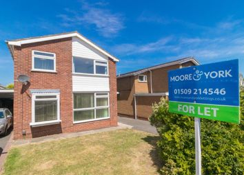 Thumbnail 4 bed detached house to rent in Leconfield Road, Loughborough