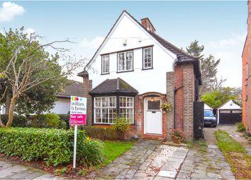 Thumbnail 3 bedroom detached house for sale in Crossways, Gidea Park, Romford