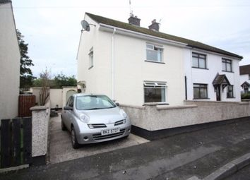 Thumbnail 3 bed end terrace house to rent in Ashlea Place, Lisburn