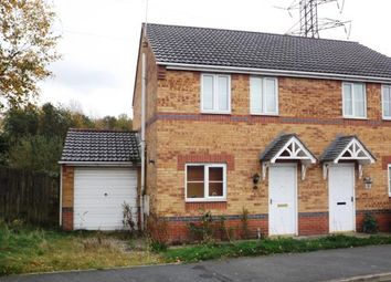 Thumbnail 3 bed semi-detached house for sale in Curbar Close, North Wingfield, Chesterfield, Derbyshire