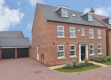 "Thumbnail 5 bedroom detached house for sale in ""Buckingham"" at Wright Close, Whetstone, Leicester"