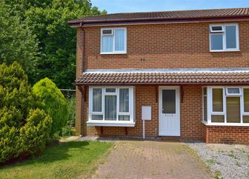 Thumbnail 2 bed end terrace house for sale in Gilman Close, Hawkinge, Folkestone, Kent