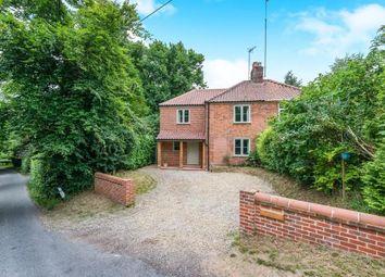 Thumbnail 4 bed semi-detached house for sale in Bramerton, Norwich, Norfolk
