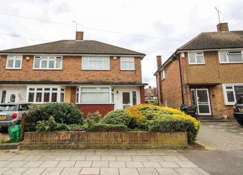 Thumbnail 3 bedroom semi-detached house to rent in Freshwell Avenue, Chadwell Heath, Romford