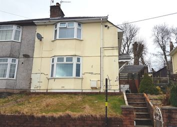 Thumbnail 3 bed semi-detached house for sale in Maen Gilfach, Trelewis, Treharris