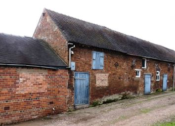 Thumbnail 4 bed barn conversion for sale in Huntley House Farm, Huntley Lane, Cheadle, Stoke-On-Trent, Staffordshire