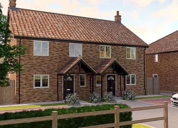 Thumbnail 3 bed semi-detached house for sale in Mill Road, Terrington St. John, Wisbech