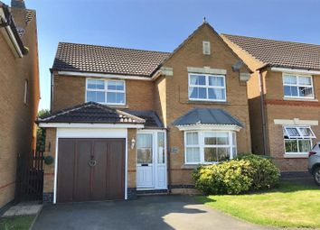 Thumbnail 4 bed detached house for sale in Anemone Close, Melton Mowbray