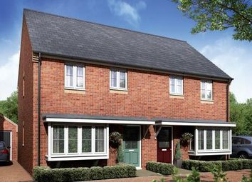 Thumbnail 3 bedroom semi-detached house for sale in Plot 55 Windsor, Parsons Prospect, Eye, Peterborough