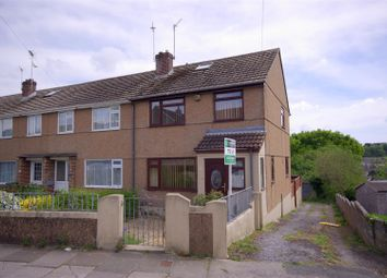 Thumbnail 3 bedroom end terrace house to rent in Stirling Road, St. Budeaux, Plymouth