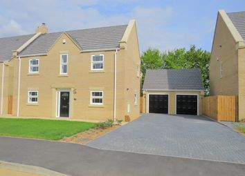 Thumbnail 4 bedroom detached house for sale in Penwald Court, Peakirk, Peterborough