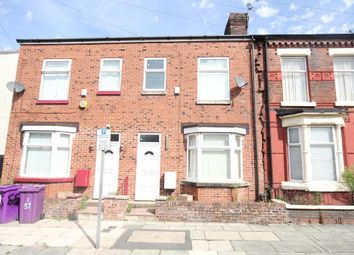 Thumbnail 3 bed terraced house to rent in Orwell Road, Walton, Liverpool