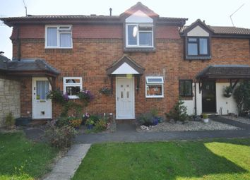 Thumbnail 2 bed terraced house for sale in Barn Meadow Close, Church Crookham, Fleet
