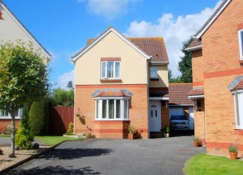 Thumbnail 3 bed detached house for sale in Misterton Close, Plymouth