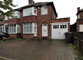 Thumbnail 3 bed semi-detached house to rent in Crowshott Avenue, Stanmore, Middlesex