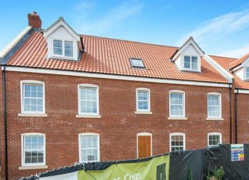 Thumbnail 2 bedroom flat for sale in Bacton Road, North Walsham, Norfolk