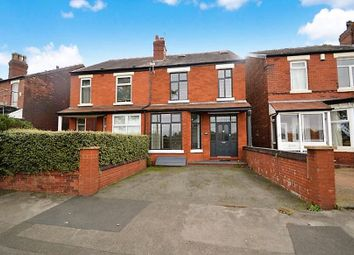 Thumbnail 4 bed semi-detached house for sale in Woodsmoor Lane, Woodsmoor, Stockport
