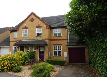 Thumbnail 3 bed semi-detached house for sale in Muncaster Gardens, Wootton, Northampton