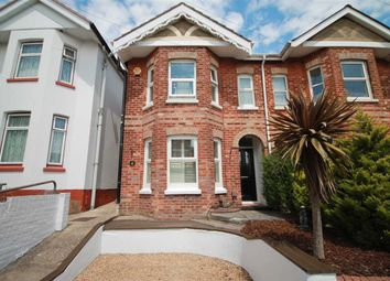 Thumbnail 3 bed semi-detached house to rent in Gwynne Road, Parkstone, Poole