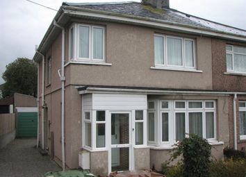 Thumbnail 3 bed property to rent in Howard Road, Plymstock, Plymouth
