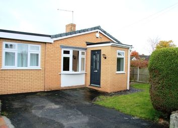 Thumbnail 3 bed semi-detached bungalow to rent in Ffordd Ganol, Sychdyn, Mold