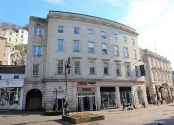 Thumbnail 1 bed flat for sale in Fleet Street, Torquay