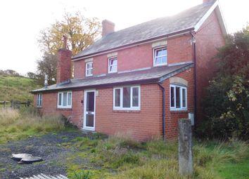 Thumbnail 3 bed detached house for sale in Crossgates, Llandrindod Wells