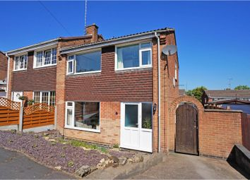 Thumbnail 3 bed semi-detached house for sale in Averham Close, Swadlincote