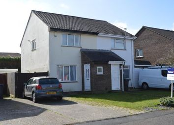 Thumbnail 2 bed semi-detached house for sale in Throop, Bournemouth, Dorset