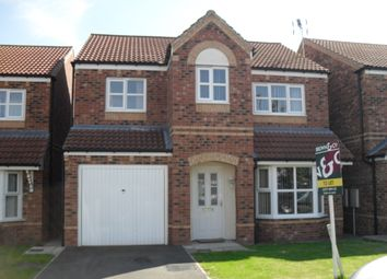 Thumbnail 4 bed detached house to rent in Portland Road, Retford