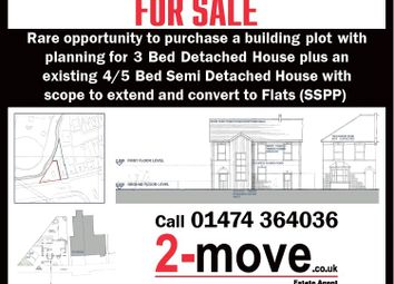 Thumbnail 4 bed semi-detached house for sale in London Road, Greenhithe, Kent