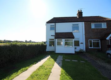 Thumbnail 2 bedroom end terrace house for sale in Witton Green, Reedham, Norwich