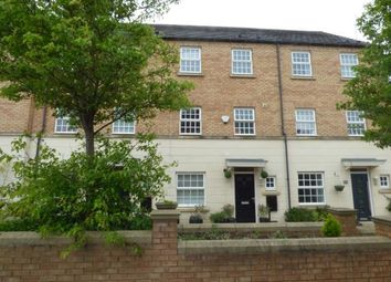 Thumbnail 4 bedroom town house for sale in Attenborough Close, Wigston, Leicestershire