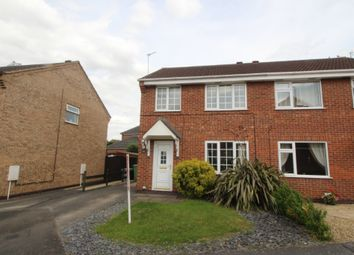 Thumbnail 3 bed semi-detached house to rent in Lindrick Close, Grantham
