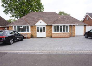 Thumbnail 3 bed detached house for sale in Wavenham Close, Four Oaks, Sutton Coldfield
