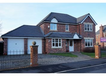 Thumbnail 4 bed detached house for sale in Armaside Road, Preston
