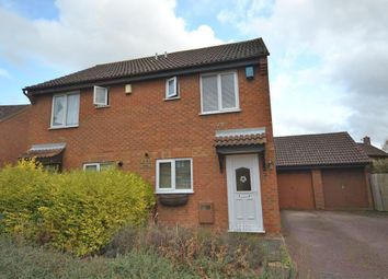 Thumbnail 2 bed semi-detached house for sale in Lichfield Down, Walnut Tree, Milton Keynes, Buckinghamshire