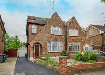 Thumbnail 4 bedroom property to rent in Chanctonbury Way, Finchley