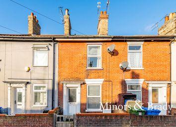 Thumbnail 2 bed terraced house for sale in Trafalgar Street, Lowestoft