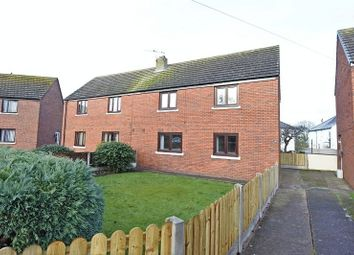 Thumbnail 3 bed semi-detached house to rent in The Oval, Cummersdale, Carlisle