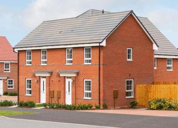 "Thumbnail 2 bedroom semi-detached house for sale in ""Kendal"" at Weddington Road, Nuneaton"
