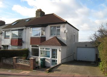 Thumbnail 2 bed semi-detached house to rent in Canfield Road, Close Brighton Uni