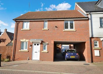 Thumbnail 3 bed semi-detached house for sale in Cromwell Road, Flitch Green, Dunmow