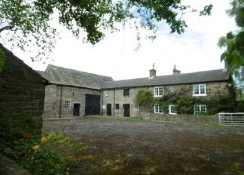 Thumbnail 4 bed farmhouse for sale in Hangman Stone Bar Farm, Moor Lane, Birdwell, Barnsley, South Yorkshire