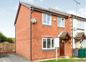 Thumbnail 3 bed terraced house to rent in Wye Dale, Church Gresley, Swadlincote