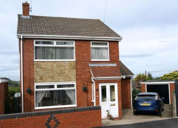 Thumbnail 3 bed detached house for sale in Prospect Drive, Coedpoeth, Wrexham