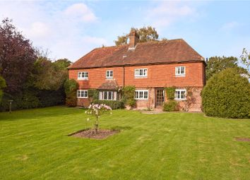 Thumbnail 5 bed detached house for sale in Flanchford Road, Leigh, Reigate, Surrey