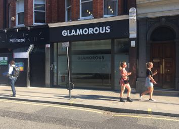 Thumbnail Retail premises to let in Mortimer Street, Fitzrovia