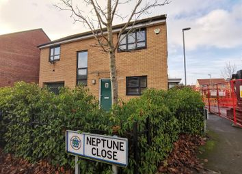 Thumbnail 4 bed detached house for sale in Neptune Close, Salford